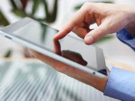 TrialPad on digital tablet