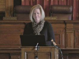 IndyBar Executive Director Julie Armstrong