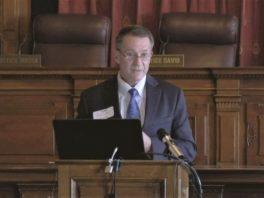 IndyBar Association President Tom Barnard